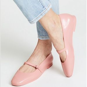 Melissa | Believe Mary Jane Ballet pink flats
